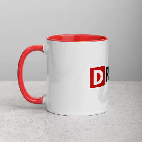 DR1VEN CEO Mug with Color Inside - Powered by I AM CEO