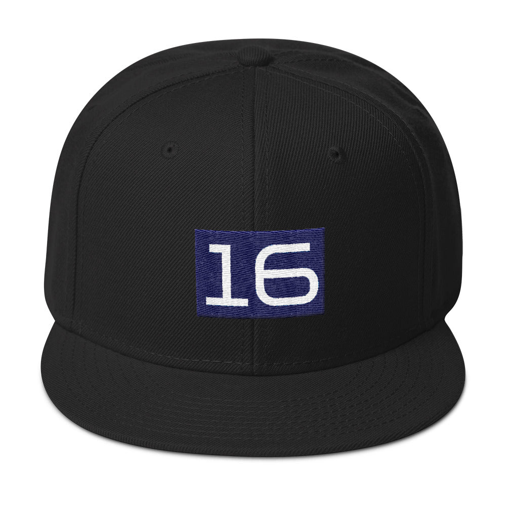 Blue 16 Edition - Snapback Hat: Helping You Come of Age