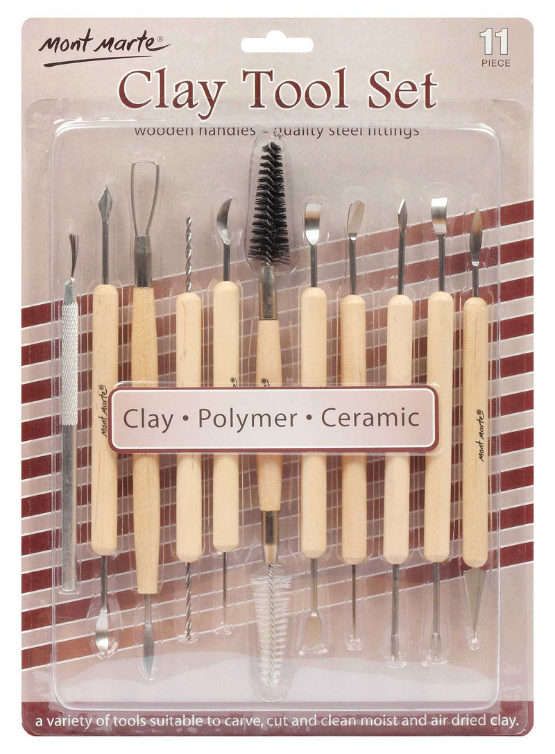 MM Clay Tool Set 11pc