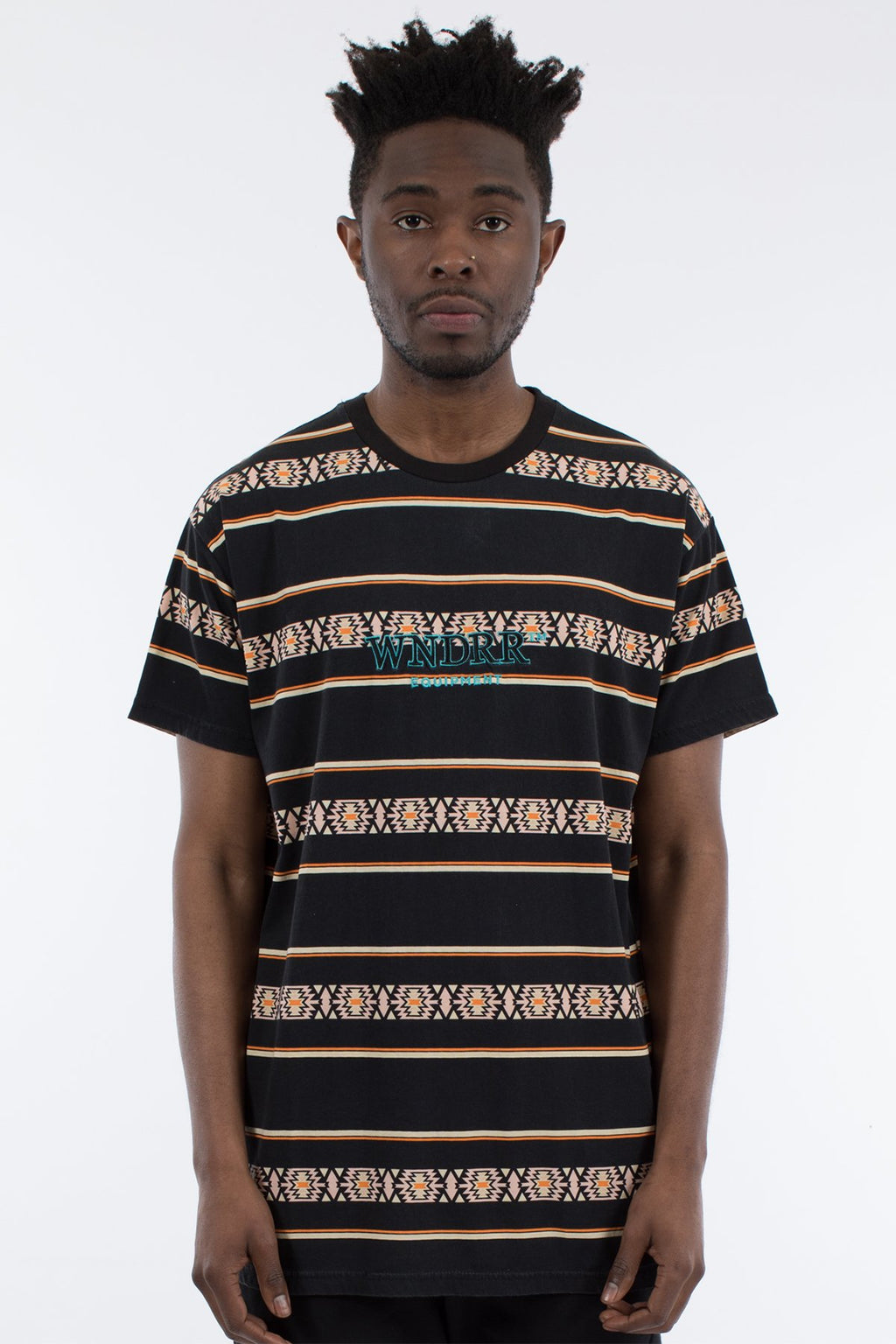 Toci Stripe Custom Fit Tee