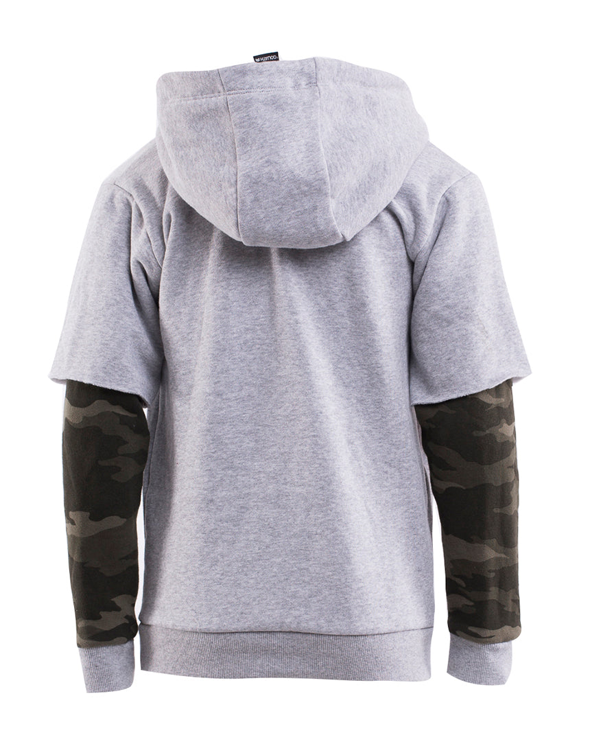 Hugo Hooded Fleece