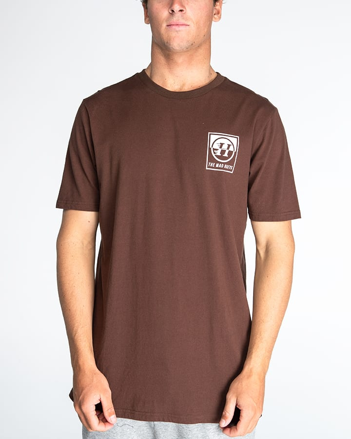 Split Peak Short Sleeve Tee