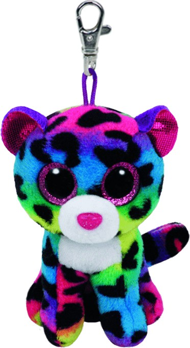 Dotty the Multicoloured Leopard - Clip