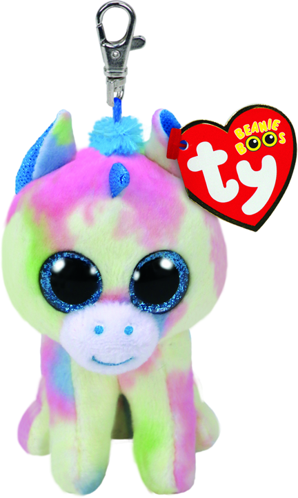 Blitz the Blue Multicolored Unicorn - Clip