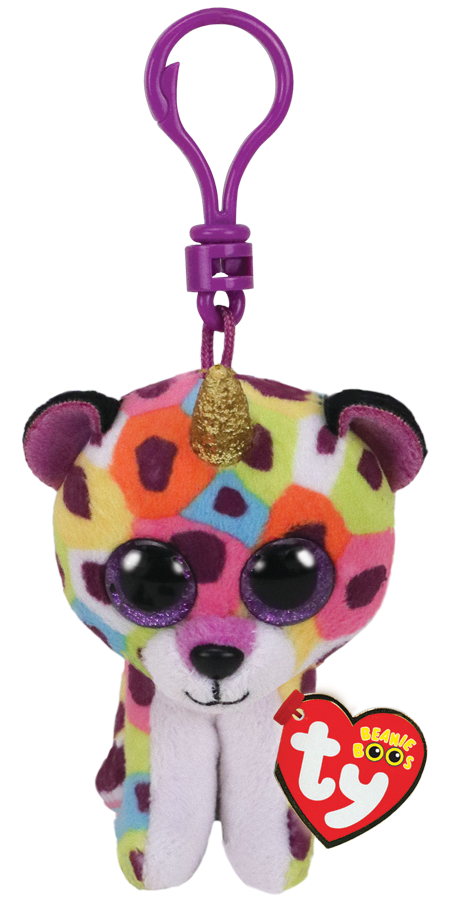 Giselle The Rainbow Leopard with Horn - Clip