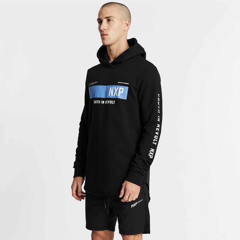 One Day Dual Curve Hoodie