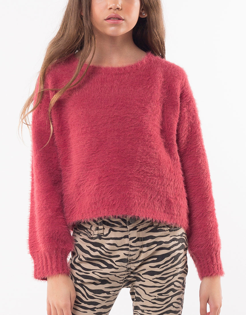 Holly Fluffy Knit