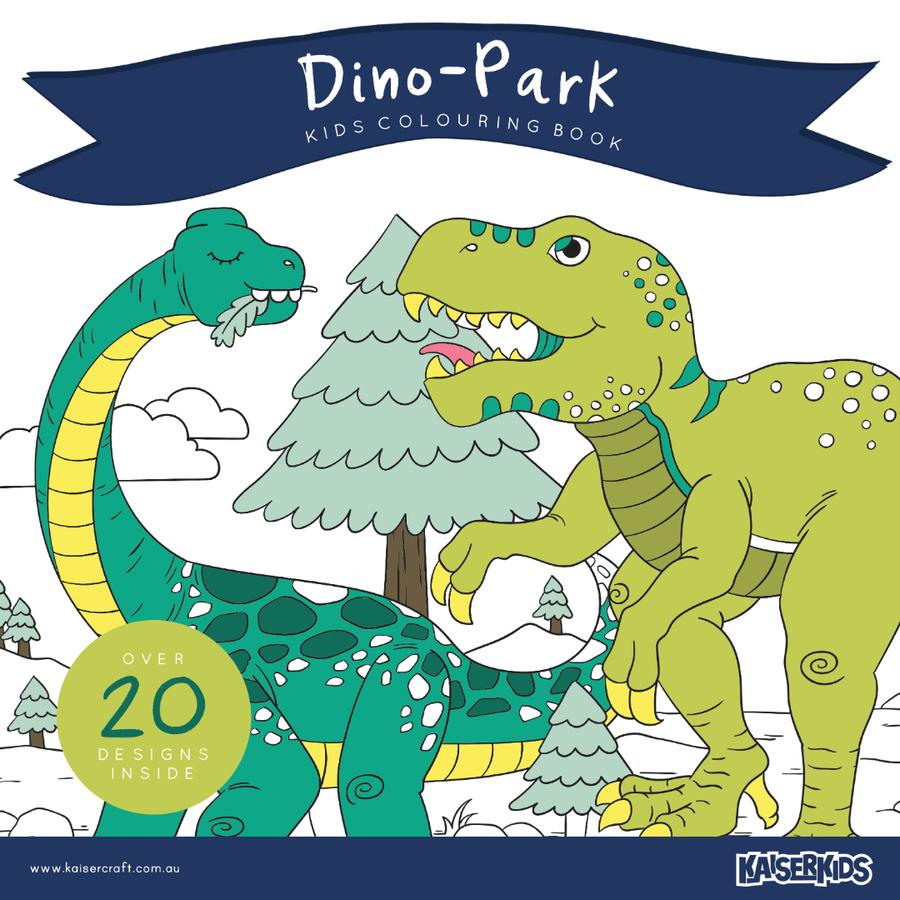 Kids Colouring Book - Dino Park