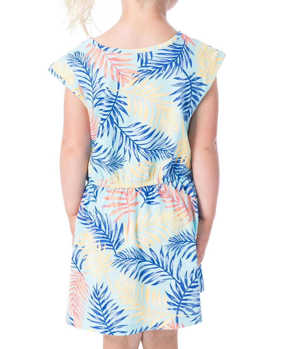 Mini Electric Palms Dress