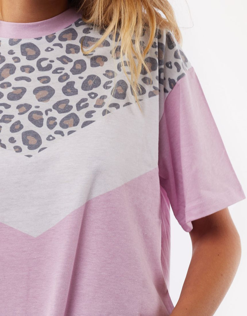 Cheetah Chevron Tee