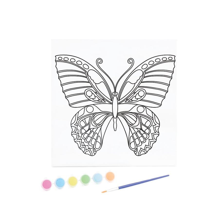 Kids Canvas with Paints - Butterfly