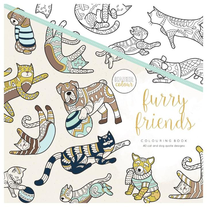 Colouring Book - Furry Friends