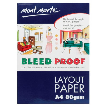 MM Bleedproof Layout Pad 80gsm