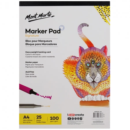 MM Marker Pad A4 25 Sheets 100gsm