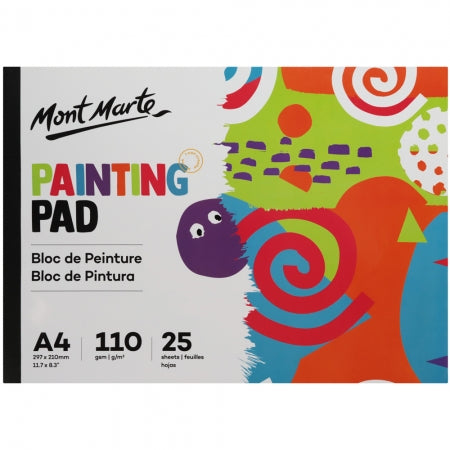 MM Painting Pad A4 25 Sheet