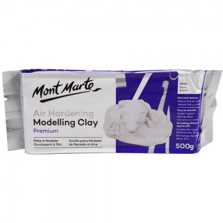 AIR HARDENING MODEL CLAY - WHITE