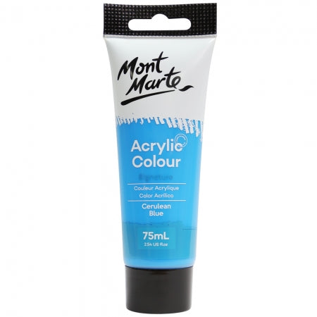 MM Studio Acrylic Paint 75ml  - Cerulean Blue