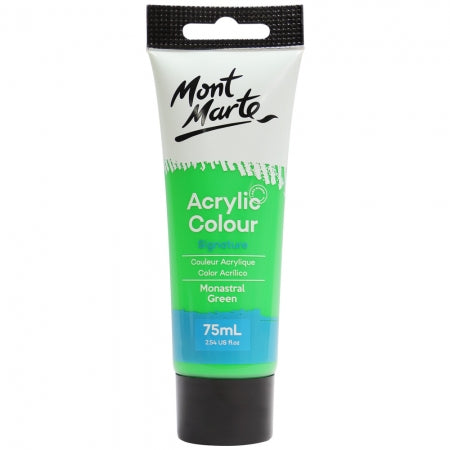 MM Studio Acrylic Paint 75ml  - Monastral Green