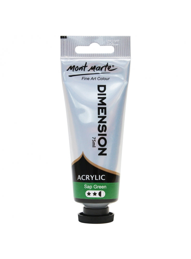 MM Dimension Acrylic 75ml - Sap green
