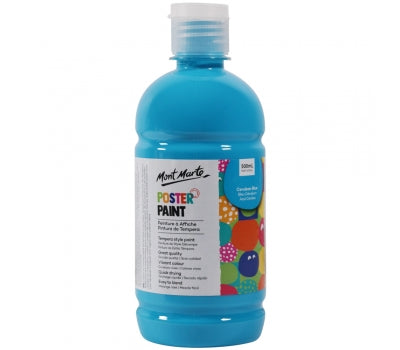 MM Poster Paint 500ml - Cerulean Blue