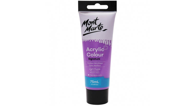 MM Studio Acrylic Paint - Light Purple