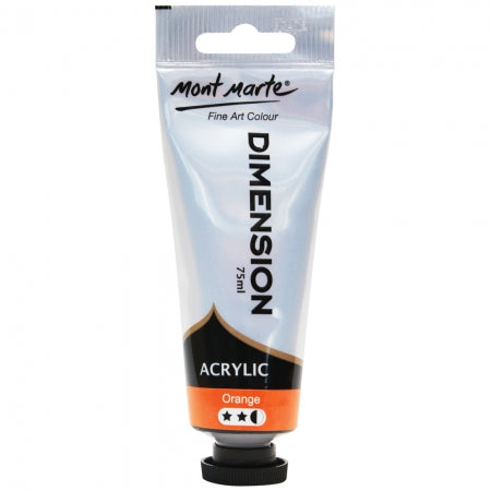 MM Dimension Acrylic Paint 75ml - Orange