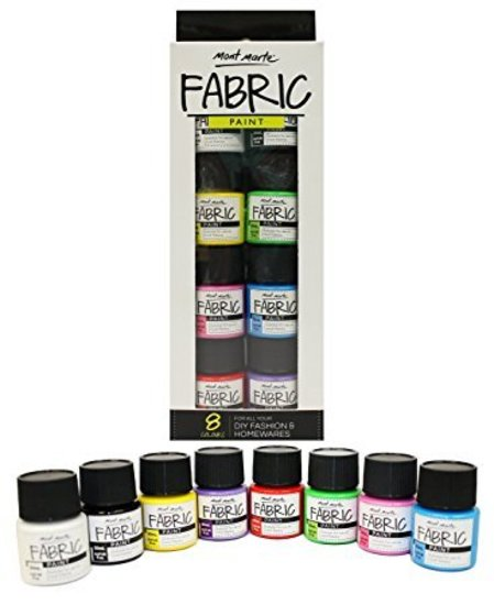 MM Fabric Paint Set - 8pc - 20ml