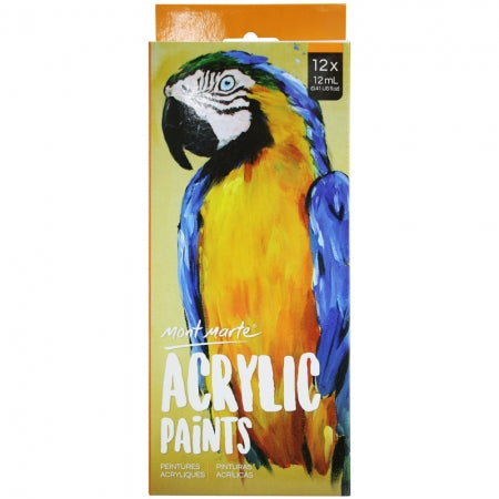 MM Acrylic Paint Set 12 pc