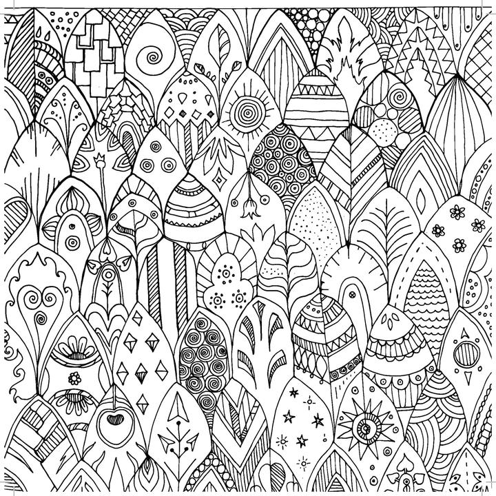 Colouring Book - Pattern Play