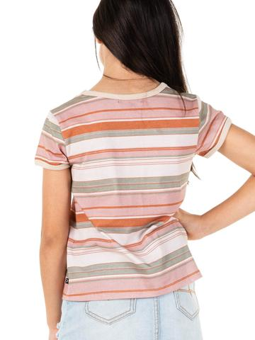 Horizons Stripe Ring Tee