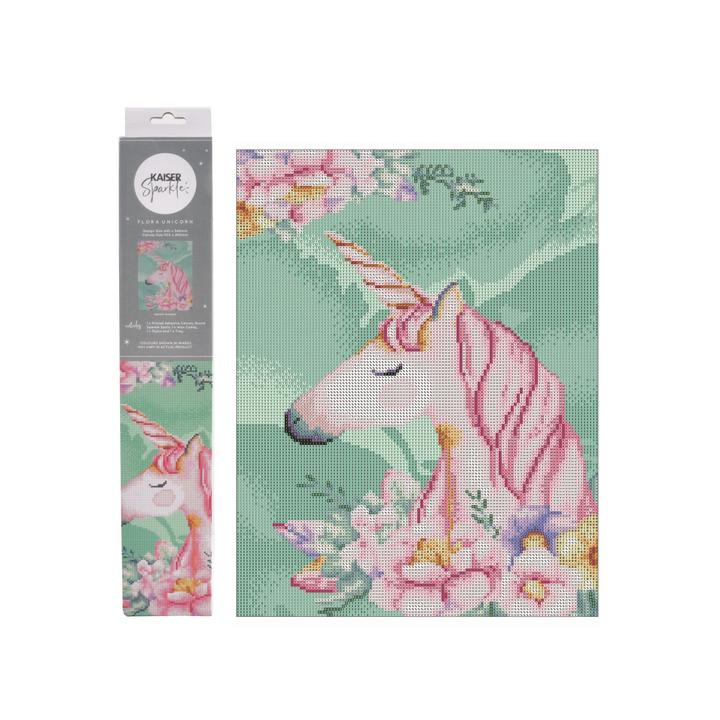 Sparkle Kits 30 x 40cm - Flora Unicorn