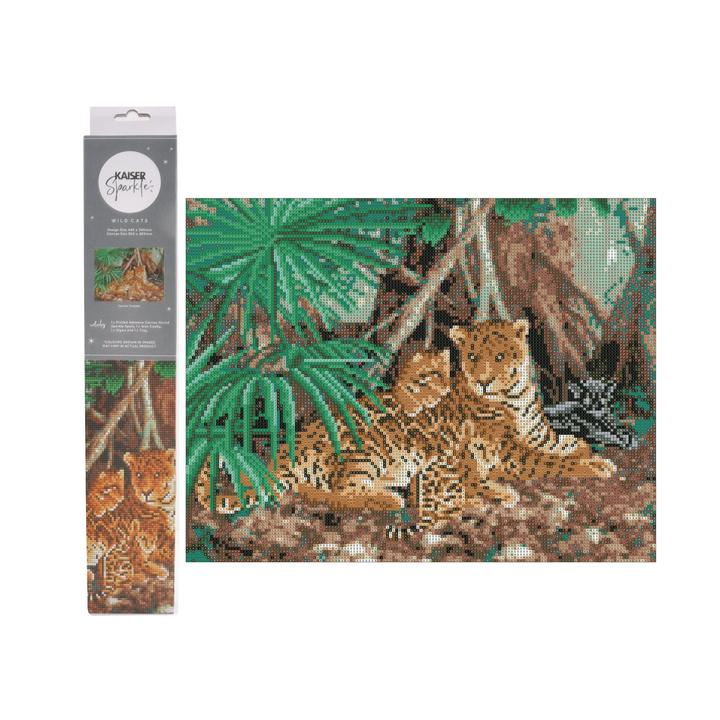 Sparkle Kits 30 x 40cm - Wild Cats