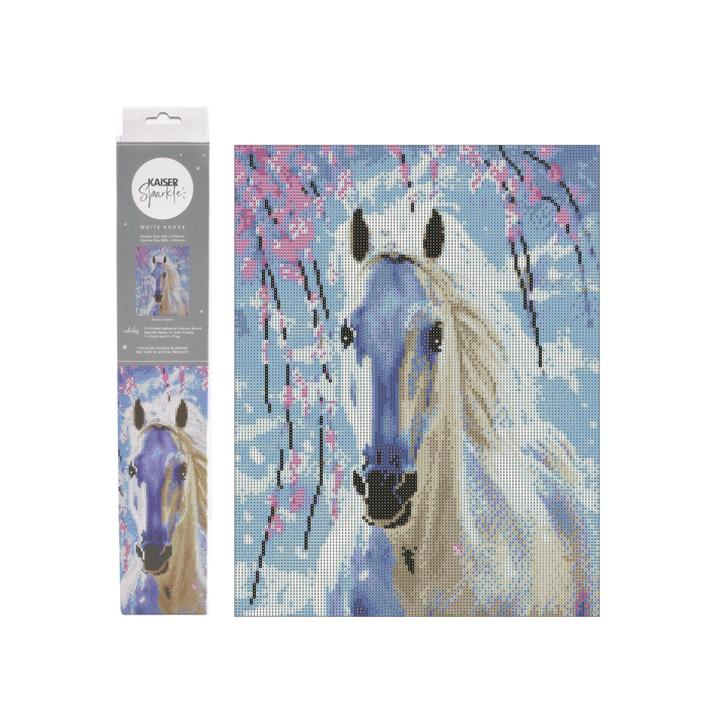 Sparkle Kits 30 x 40cm - White Horse