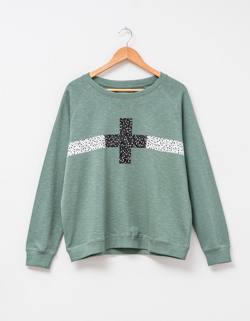 Mati Cheetah Cross Sweater