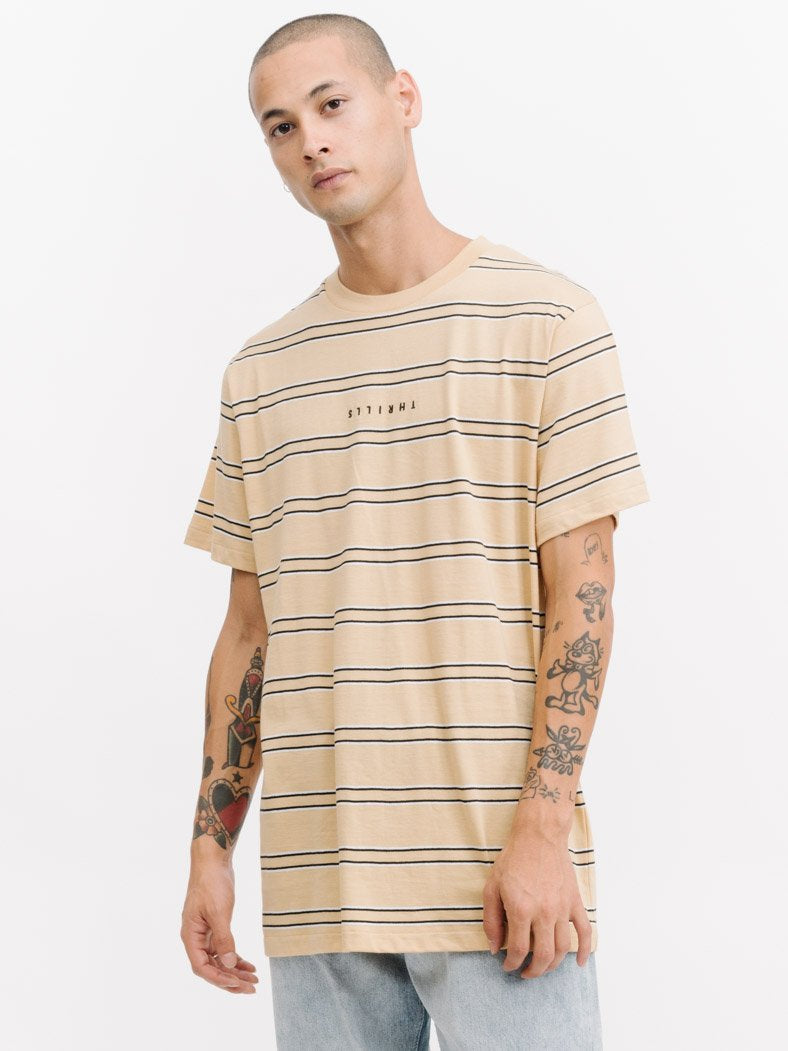 Minimal Stripe Merch Tee