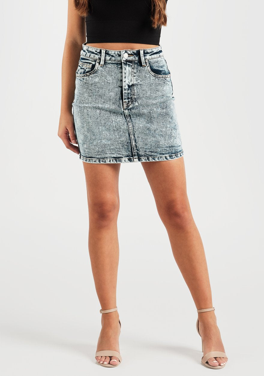 Rebel Denim Skirt