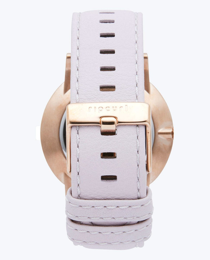Latch Rose Gold Leather Watch