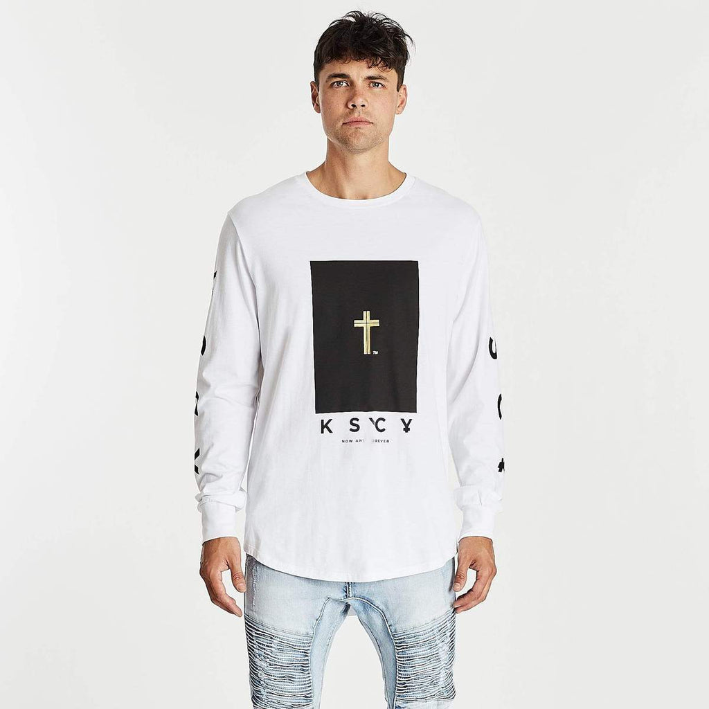 Eternal Cape Back Long Sleeve T-Shirt