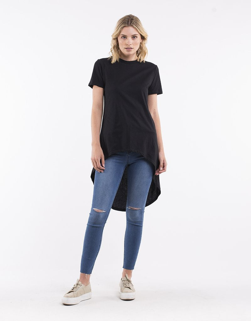 Row Short Sleeve Tee