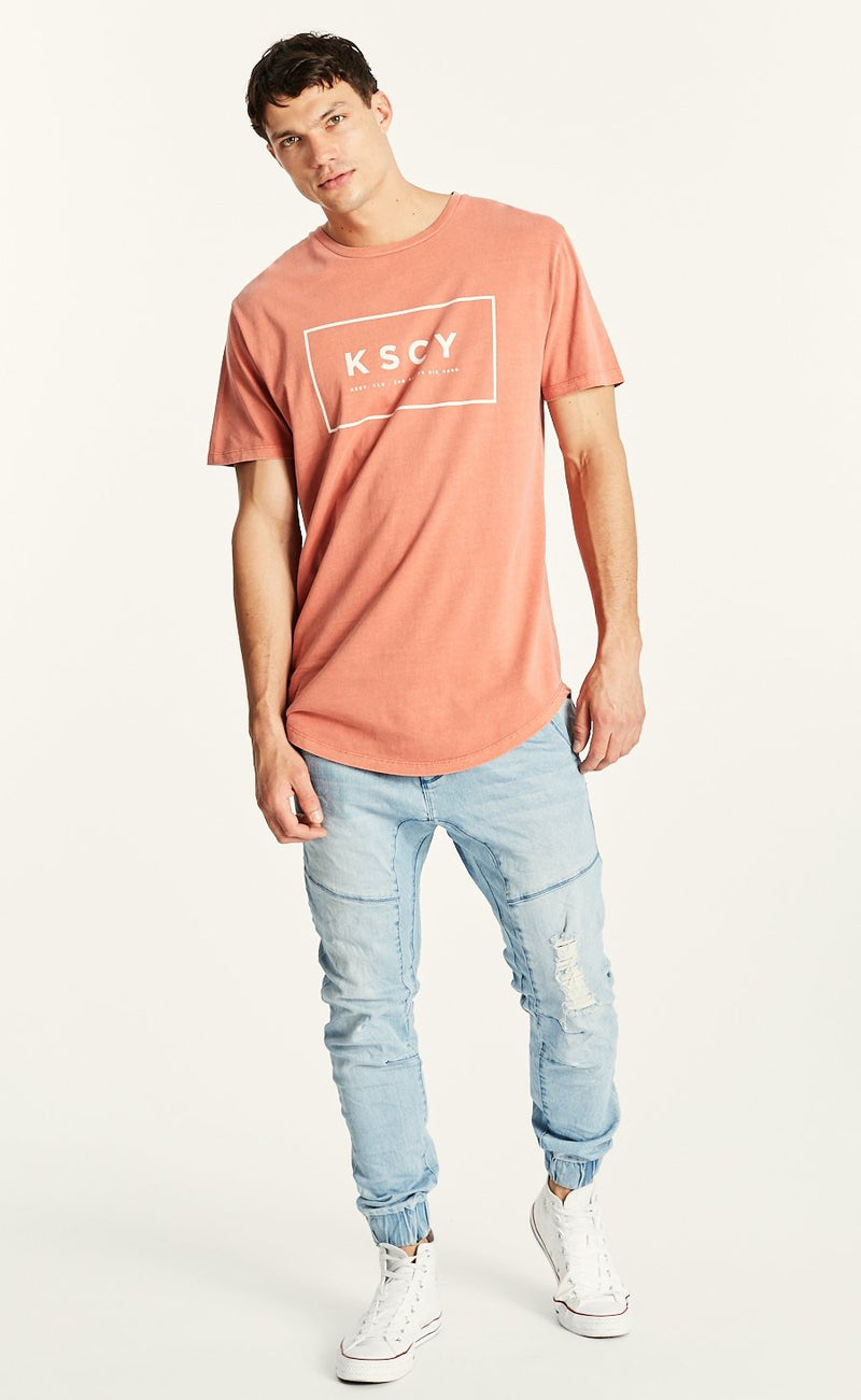 Chicago Dual Curved Hem Tee