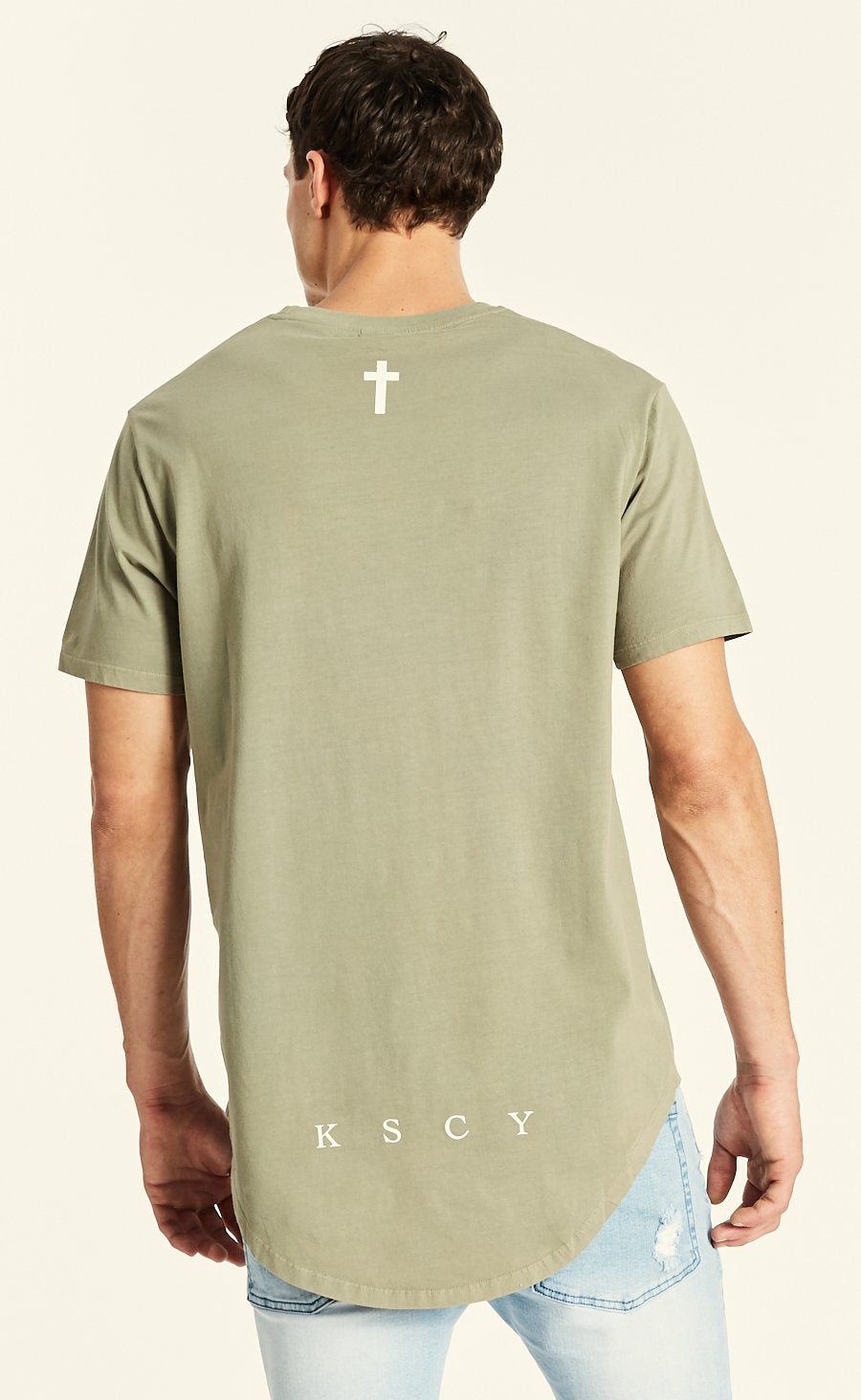 Jungle Dual Curved Hem Tee