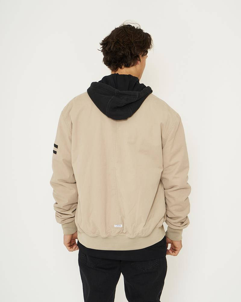 Runaway Hooded Bomber Jacket