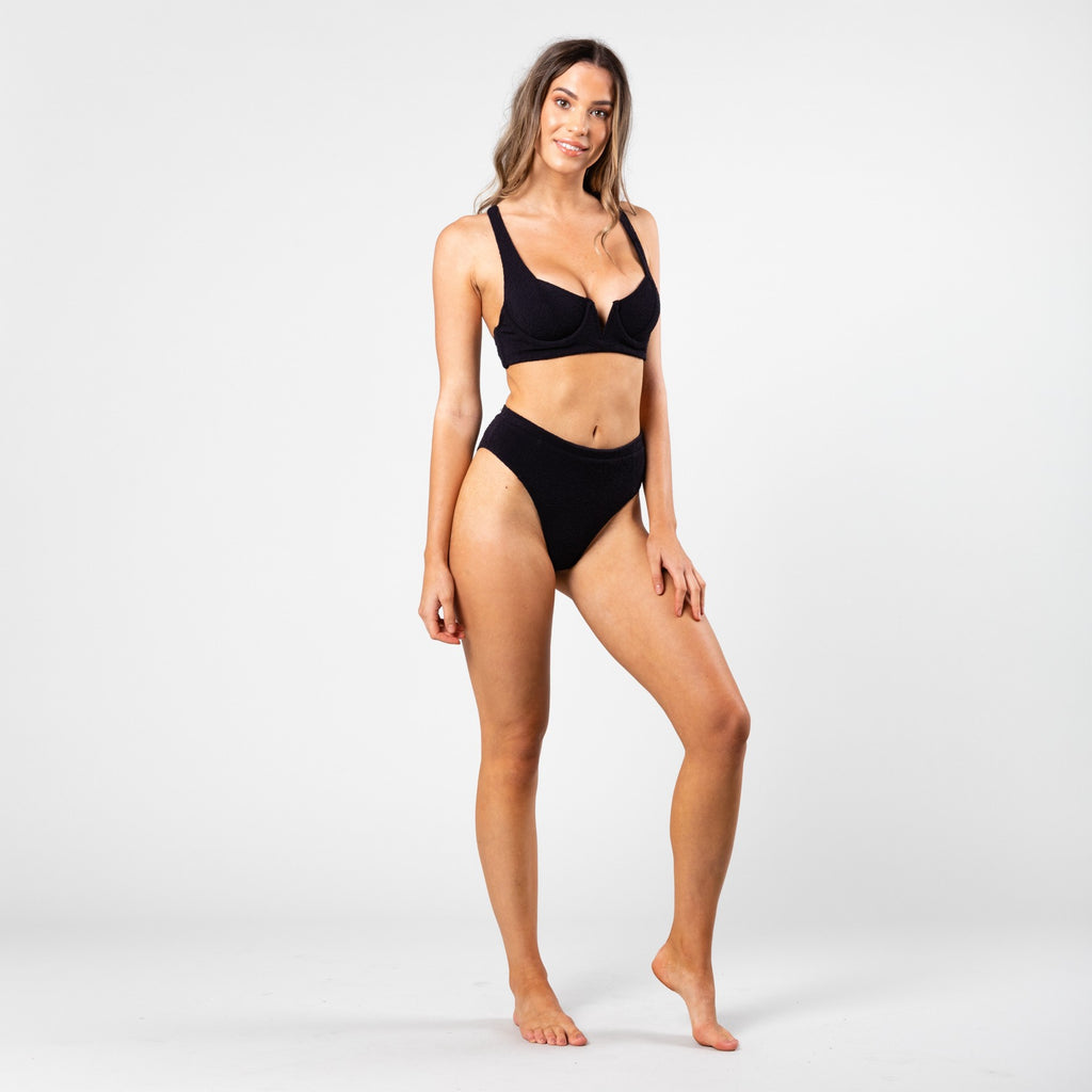 Sandalwood High Cut Midi Bikini Pant