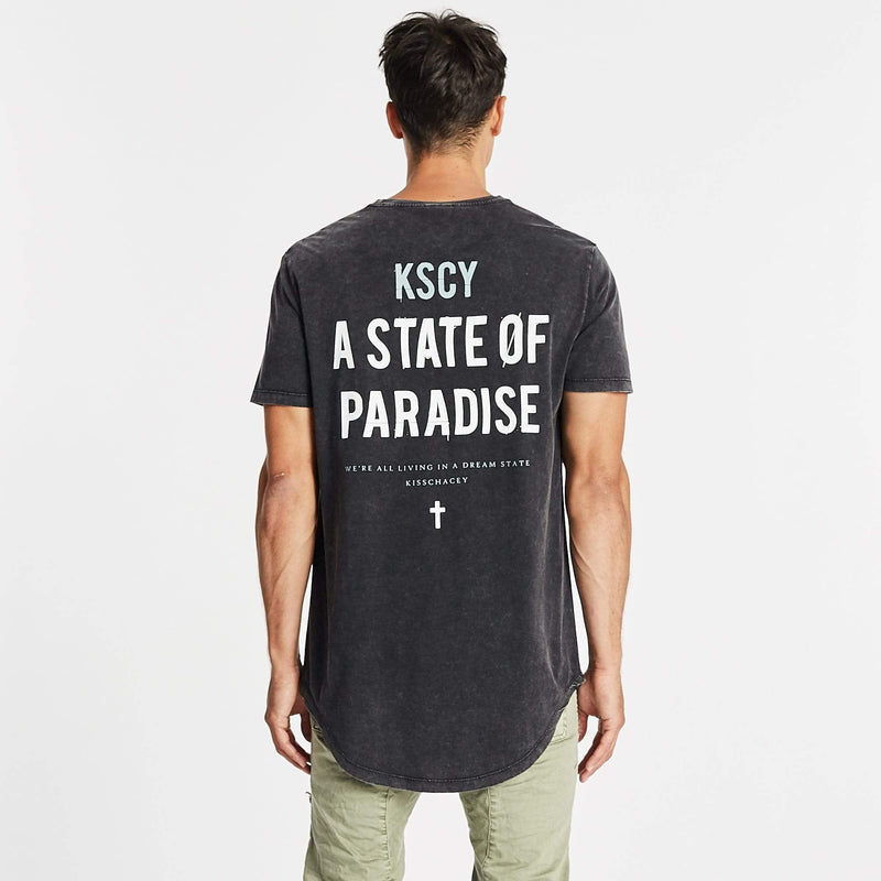 Paradise State Dual Curved Tee