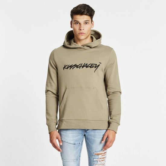 Synthetic Step Hem Hoodie