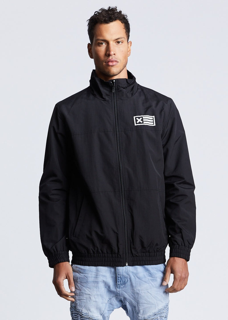 The Message Zip Up Spray Jacket