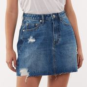 Leading Denim Skirt