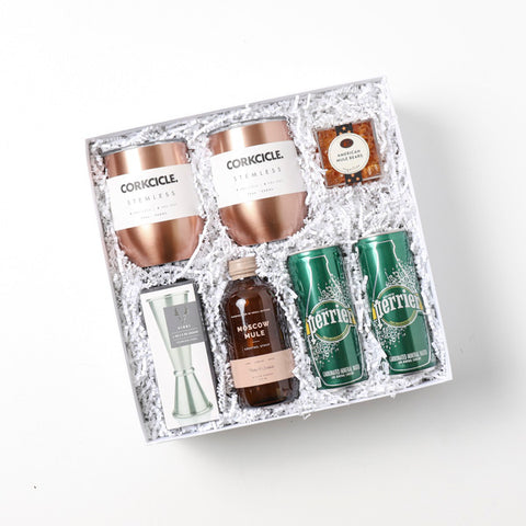 Modern Moscow Mule Closing Gift Box