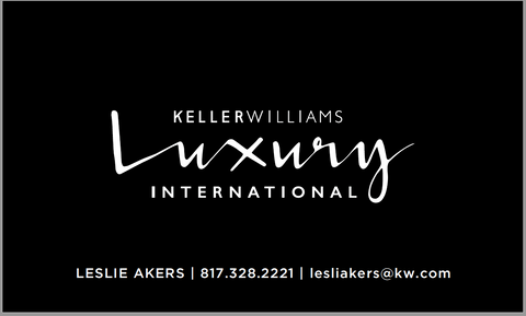 Black Luxury Business Card