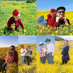 growing up with superbloom family photos